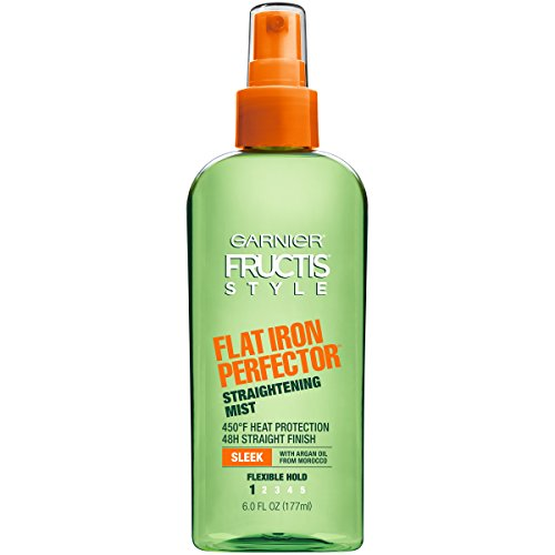 Garnier Fructis Style Flat Iron Perfector Straightening Mist All Hair Types 6 oz Packaging May Vary