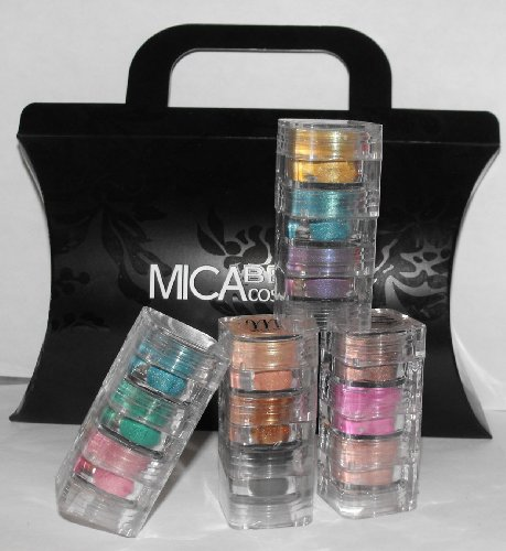 Micabella Mineral4x3stacks 12pc Eye Shadows Box
