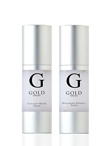 Gold Serums Hyaluronic and Collagen Kit 40 Gram