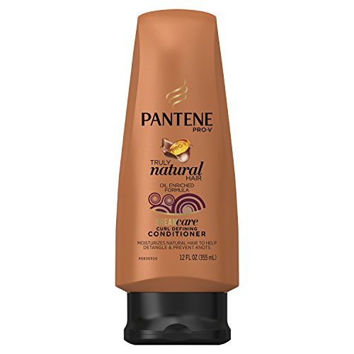 Pantene Pro-V Truly Natural Hair Curl Defining Conditioner 12 Fl Oz Packaging may vary