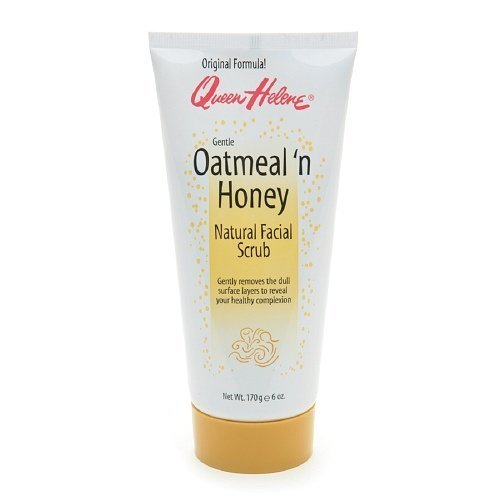 Queen Helene Natural Facial Scrub Oatmeal n Honey 6 oz 170 g